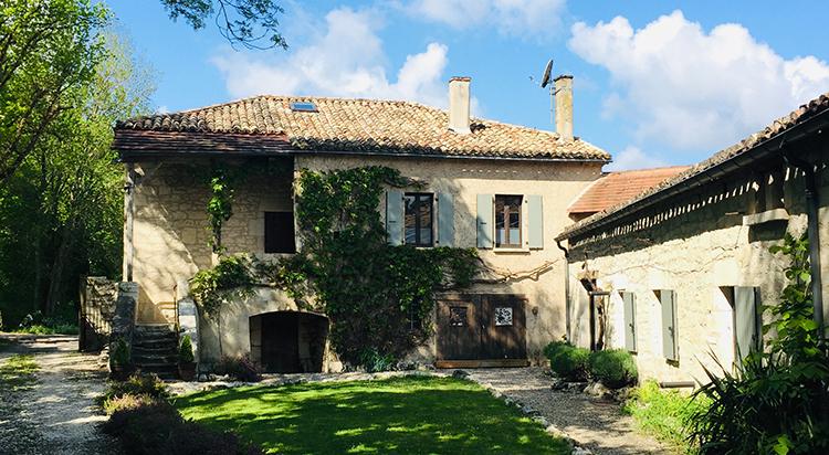 architecture quercy au gîte e moulin de bernard